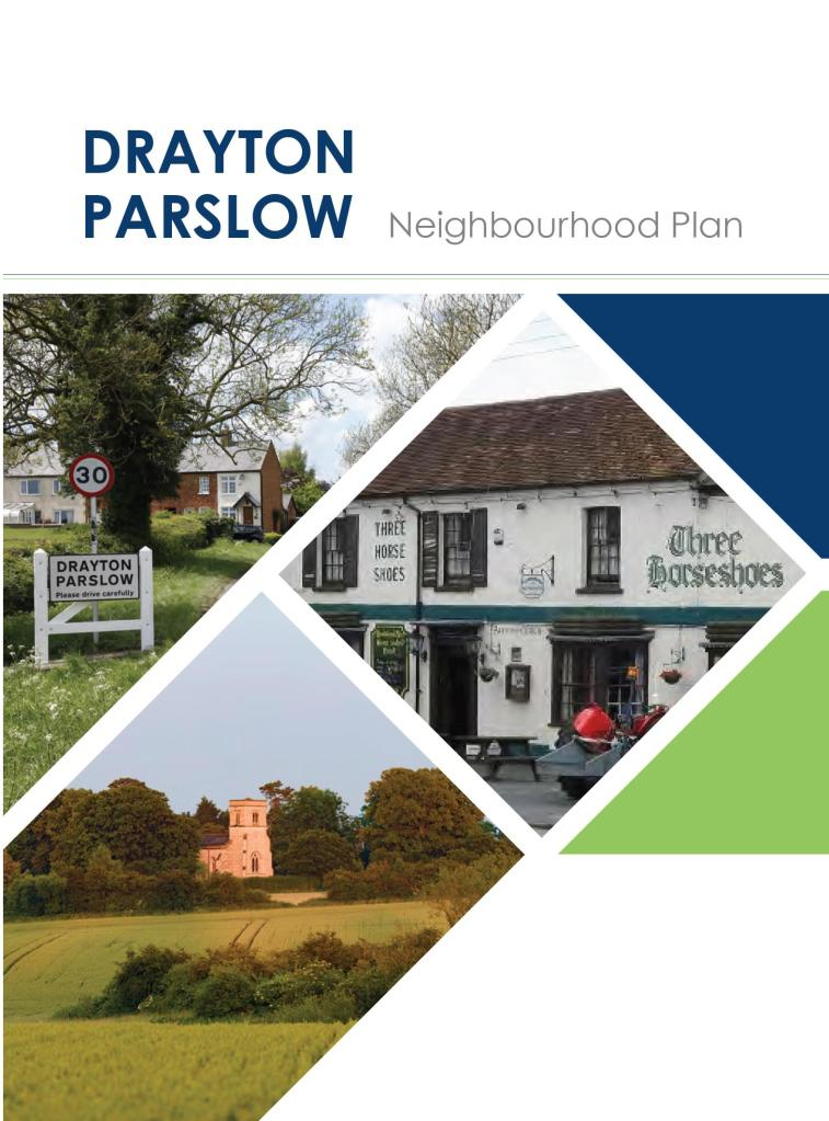 Front cover of Neighbourhood Plan draft consultation